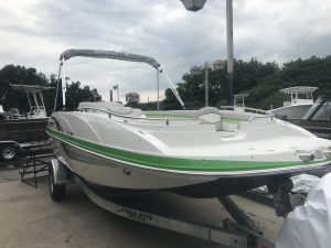 Sale pricing seaark boats starcraft marine pontoon for Jet fishing boats for sale